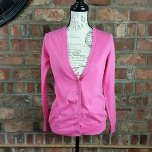 Old Navy v-neck pink cardigan
